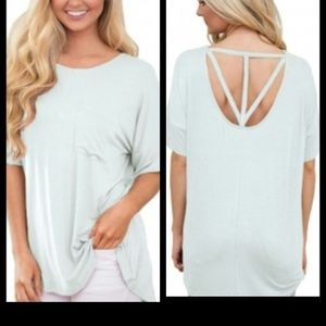Tops - ❗Last 1❗ White Cut Out Top